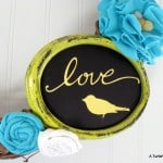 Love Means Using Yellow & Turquoise