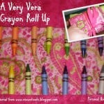 Guest Post: A Very Vera Crayon Roll Up