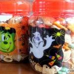 Halloween Snack Jars
