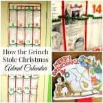 Grinch Story Advent Calendar