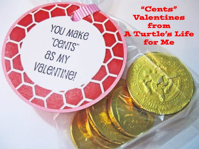 You make Cents as my Valentine with a free printable!