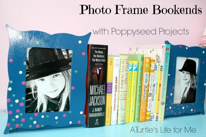 photo picture frame book ends