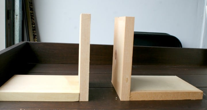 photo picture frame bookends supports