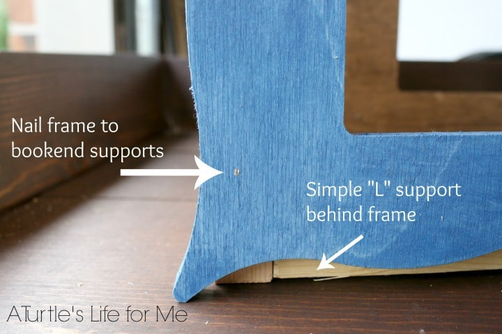 picture photo frame bookends
