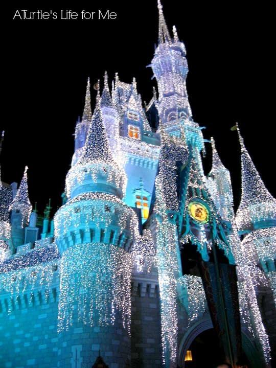 disney christmas castle