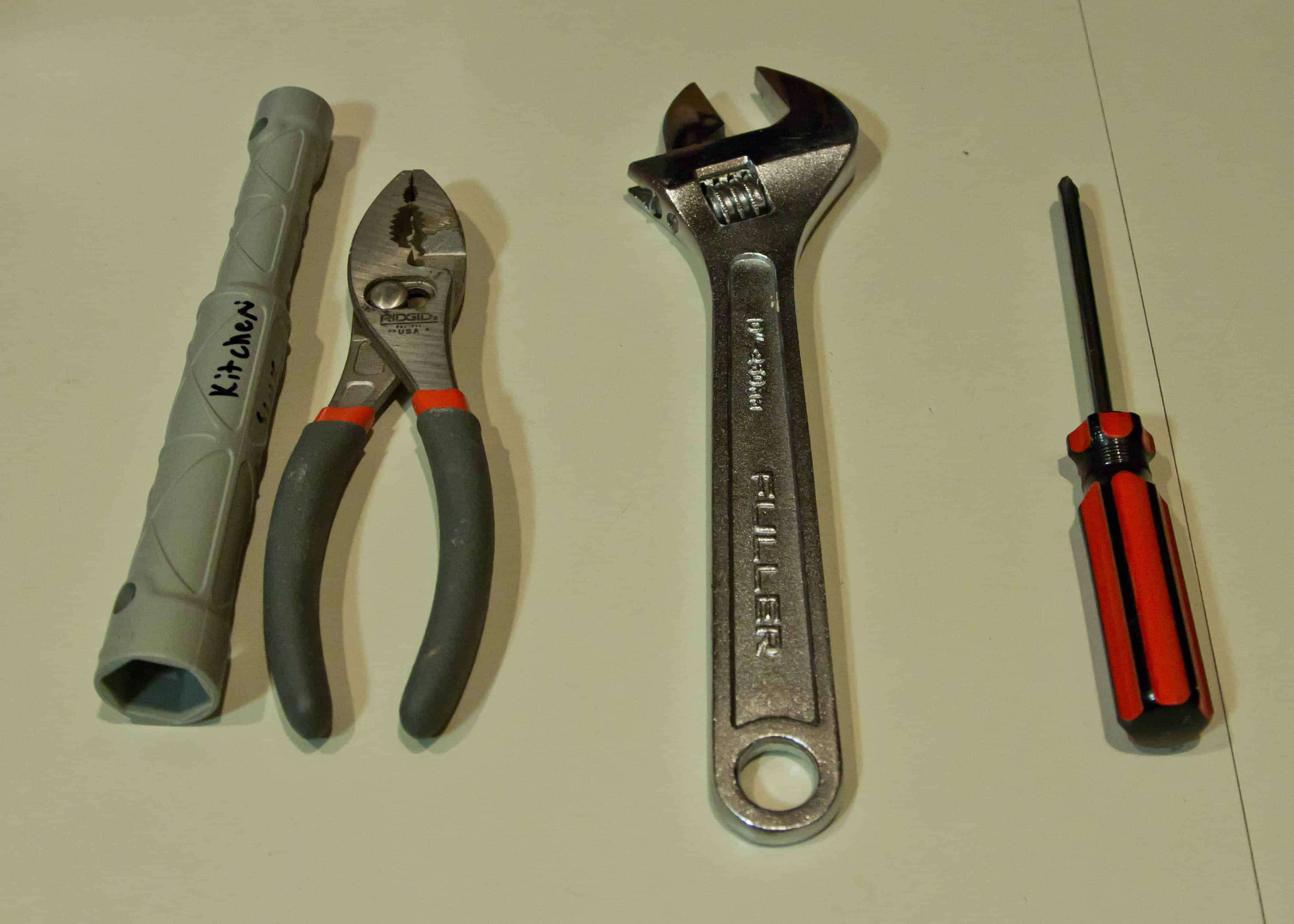 Kitchen Faucet Wrench. installing kitchen faucet supply lines with