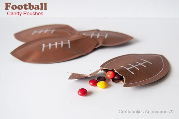 Candy Pouches Craft