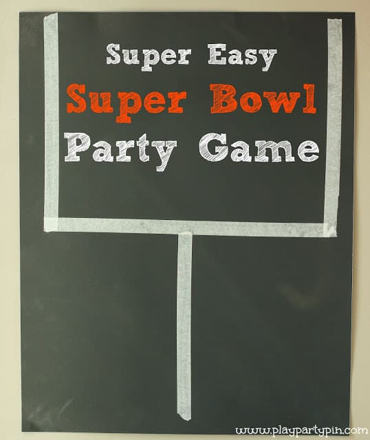 Field Goal Party Game