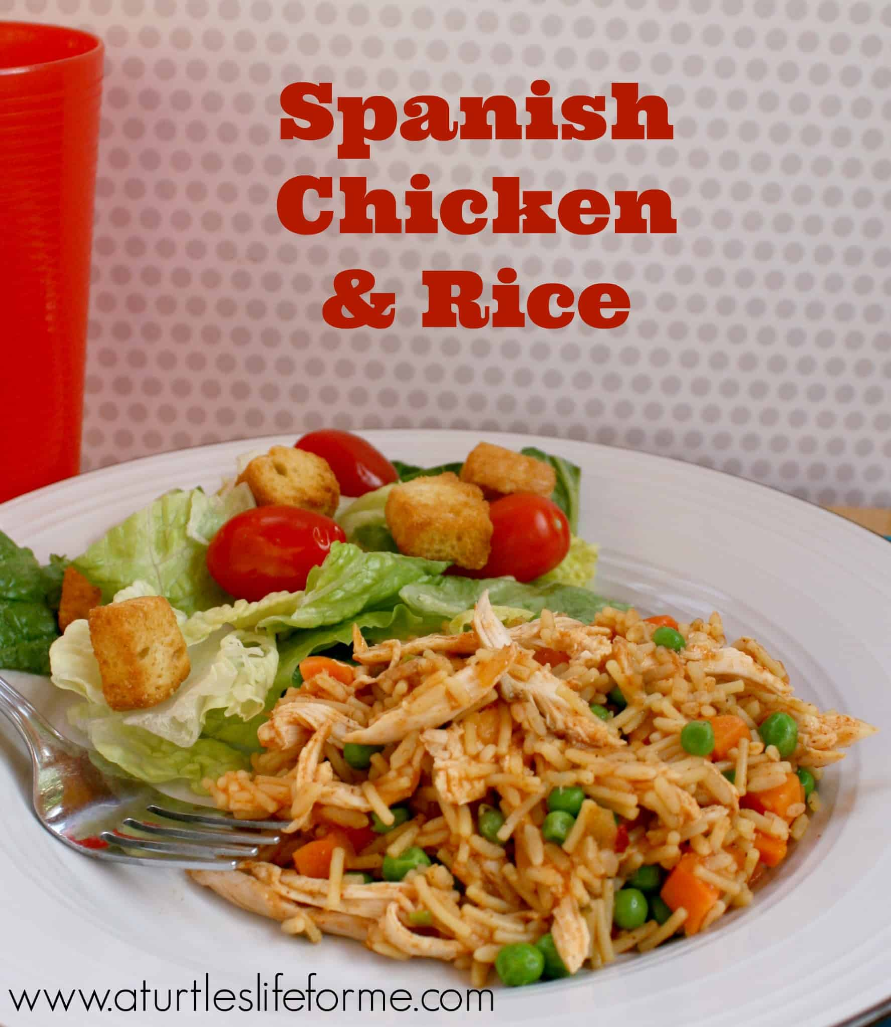 Spanish Chicken Amp Rice Recipe A Turtle S Life For Me