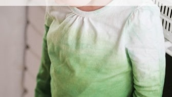 DIY Green Ombre Shirt