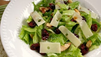 cranberry almond swiss cheese salad alpine lace