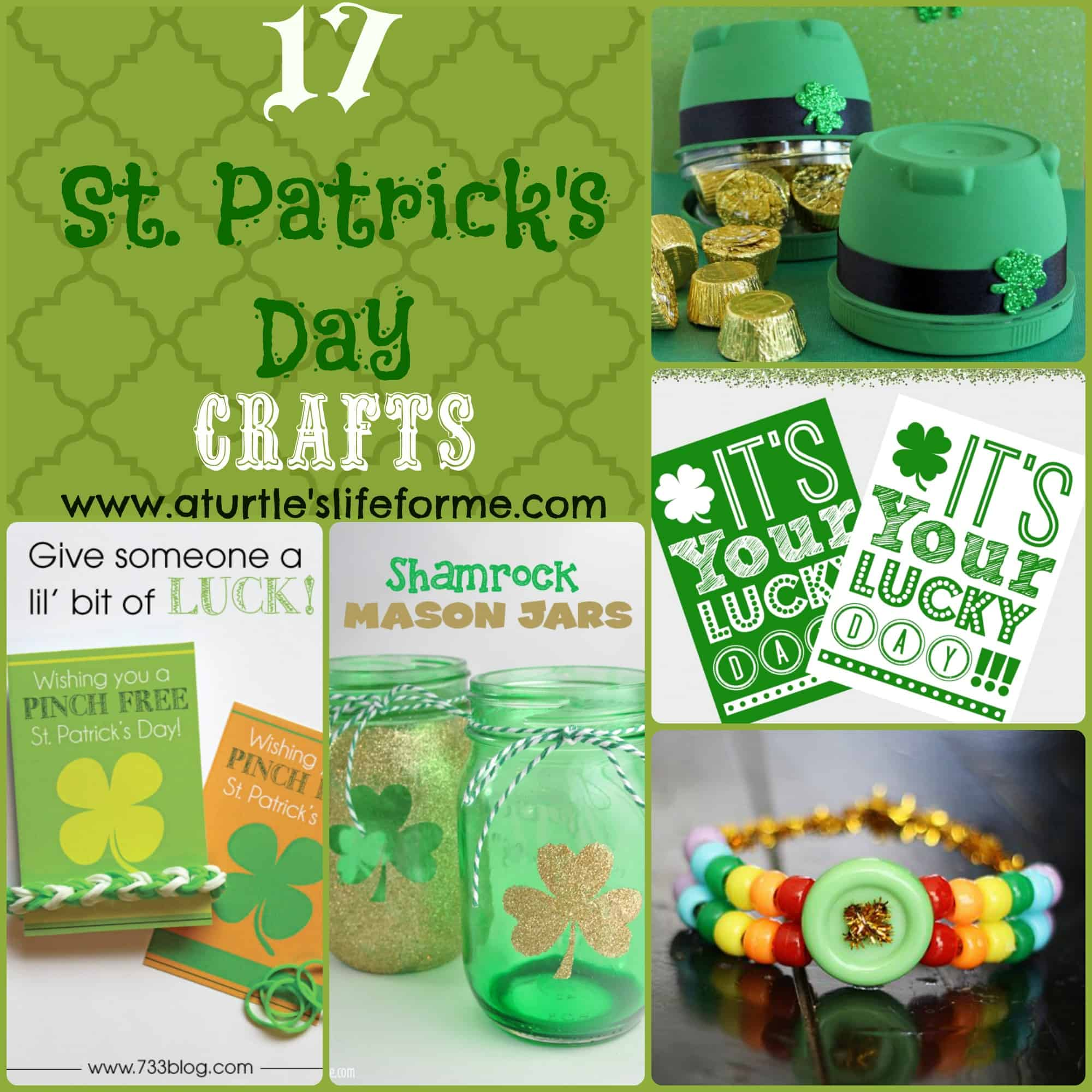St. Patrick's Day Crafts!