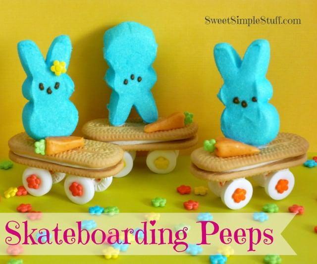 Skateboarding Peeps
