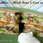 Black Bean & Corn Spread with Basil
