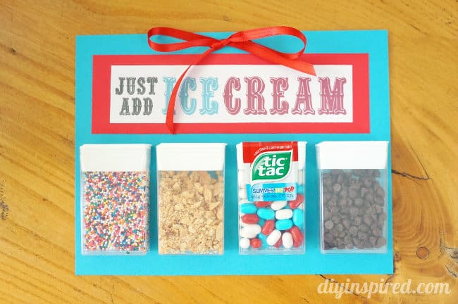 just add ice creamTic-Tac-Packs