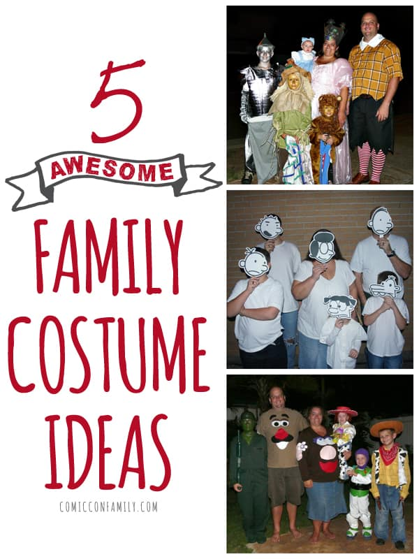 5 Family Costume Ideas