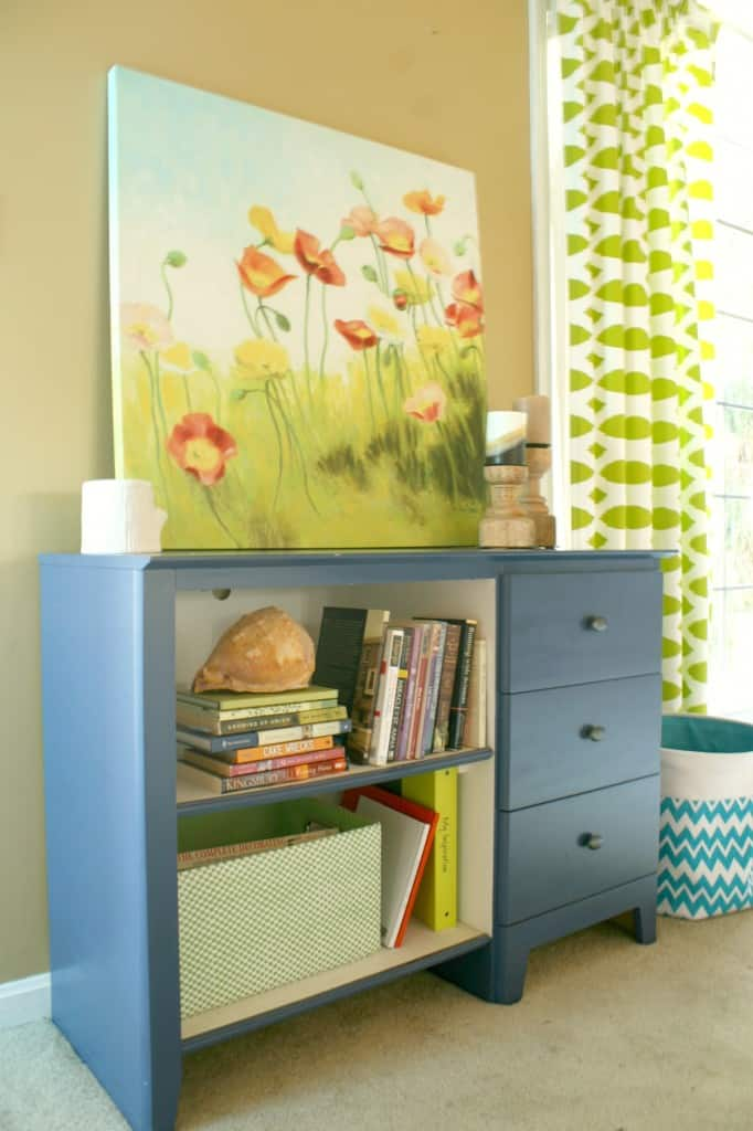 desk makeover console hall table