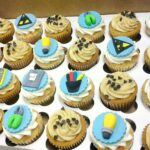 Birthday Cupcakes for an Electrician