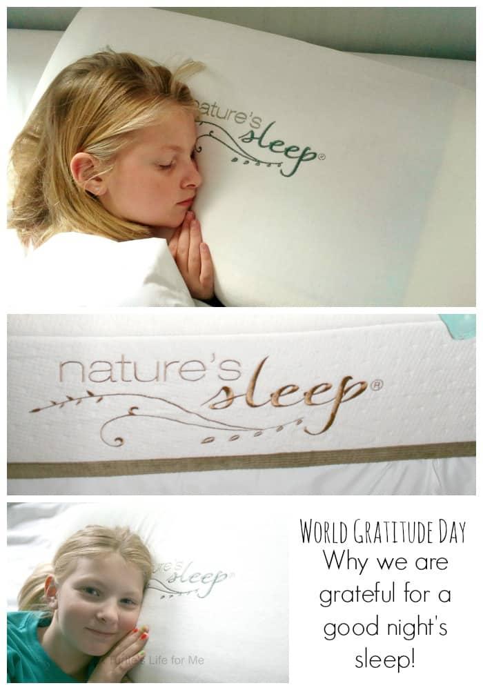 nature's sleep world gratitude day