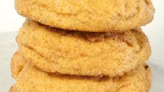 pumpkin snickerdoodle cookies recipe soft chewy