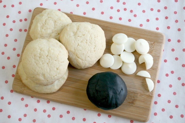 chalkboard fondant wilton christmas cookies