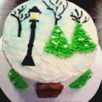 Narnia Inspired Cake Tutorial