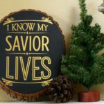 Holiday Decor Re-purposed from Thrift Store Finds