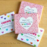 Free Valentine's Day Printable with Juicy Fruit® Starburst® Gum