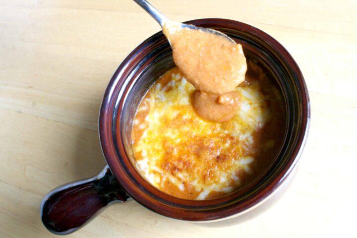 Spicy Tomato Parmesan Soup
