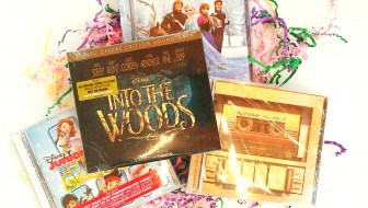 Music CDs for Disney Easter Baskets