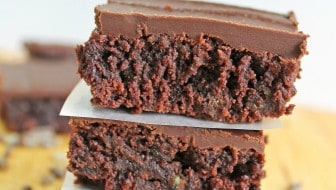 andes mint frosted brownies- A Turtle's Life for Me