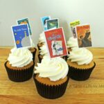 Book Party Cupcake Toppers