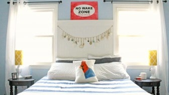 master bedroom makeover after bedding 1