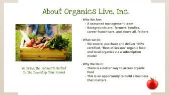 organics live about