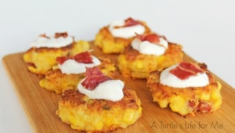 Bacon Jalapeno Corn Fritter 1