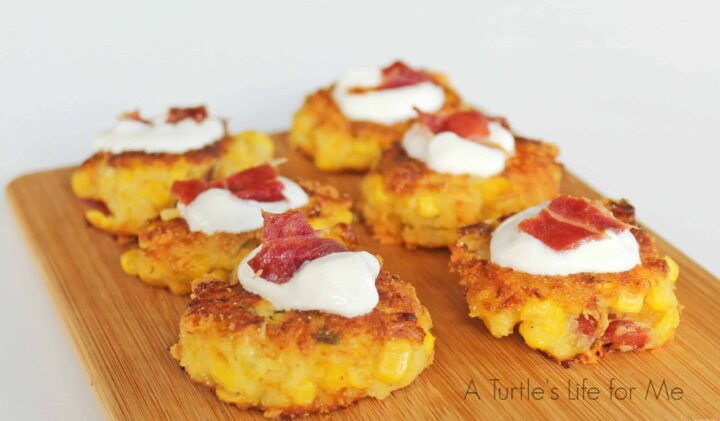 Bacon Jalapeno Corn Fritter 1