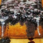 Blueberry Upside Down Lemon Bread Recipe