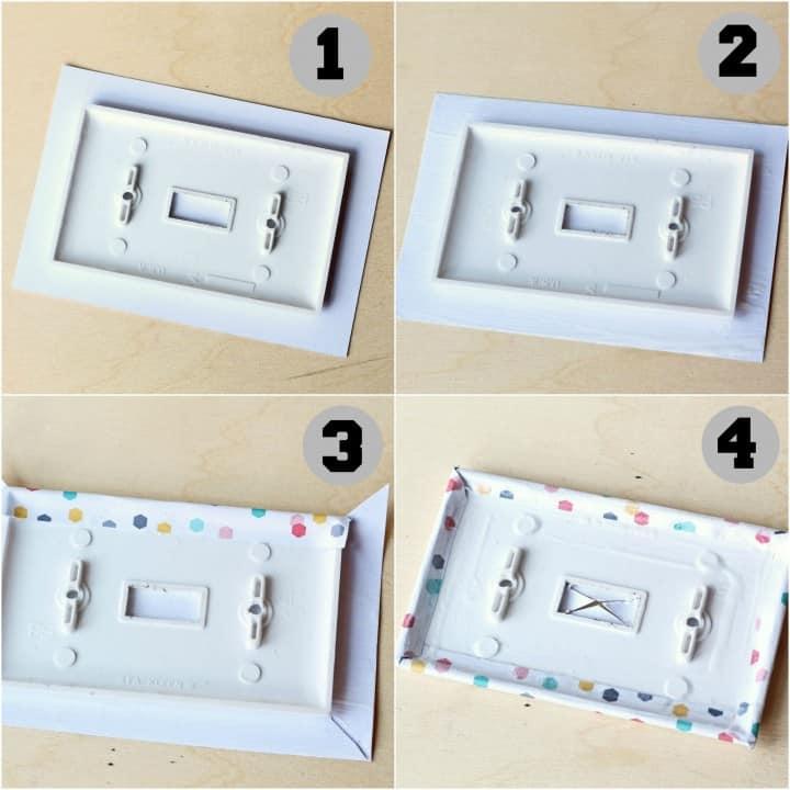 tween bedroom light switch cover tutorial