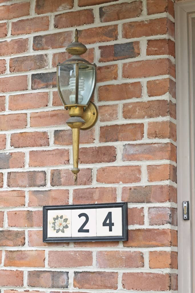 House numbers before