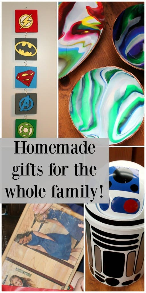 Homemade Gift ideas for everyone in your family