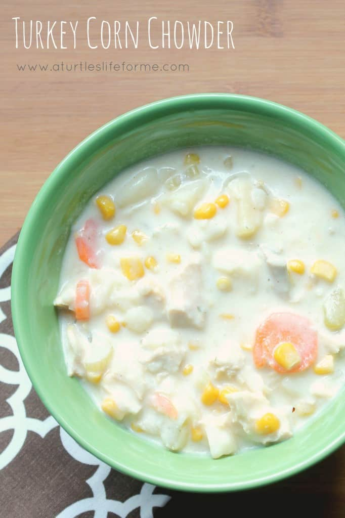 Turkey Corn Chowder Recipe