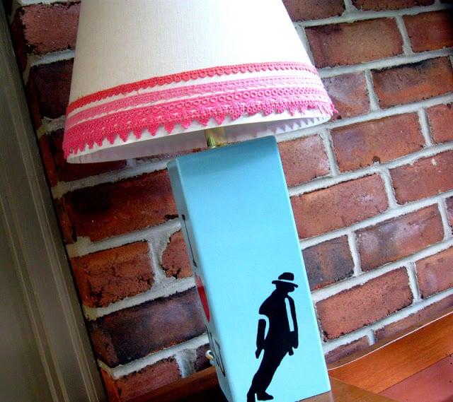 Michael Jackson lamp
