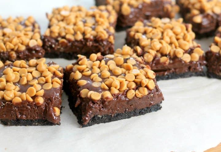 No-Bake Peanut Butter Fudge Bars