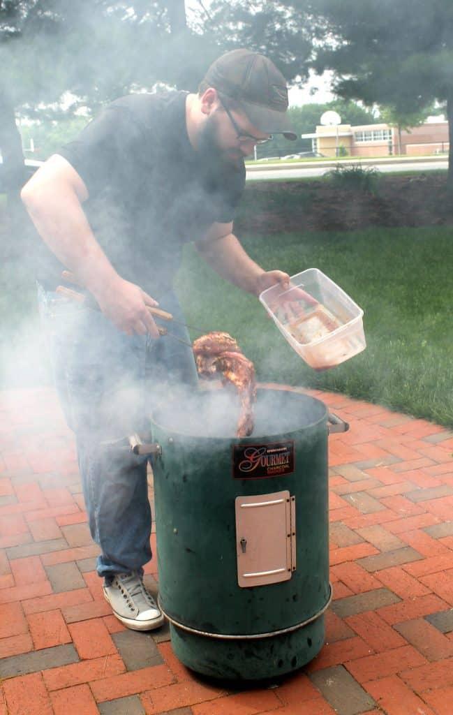 smoker meat