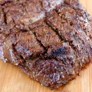 london broil marinated