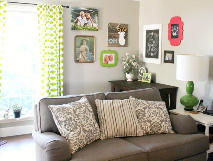 DIY Desk plans for living room