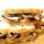 Grilled Pork Sandwiches with Goat Cheese and Fig