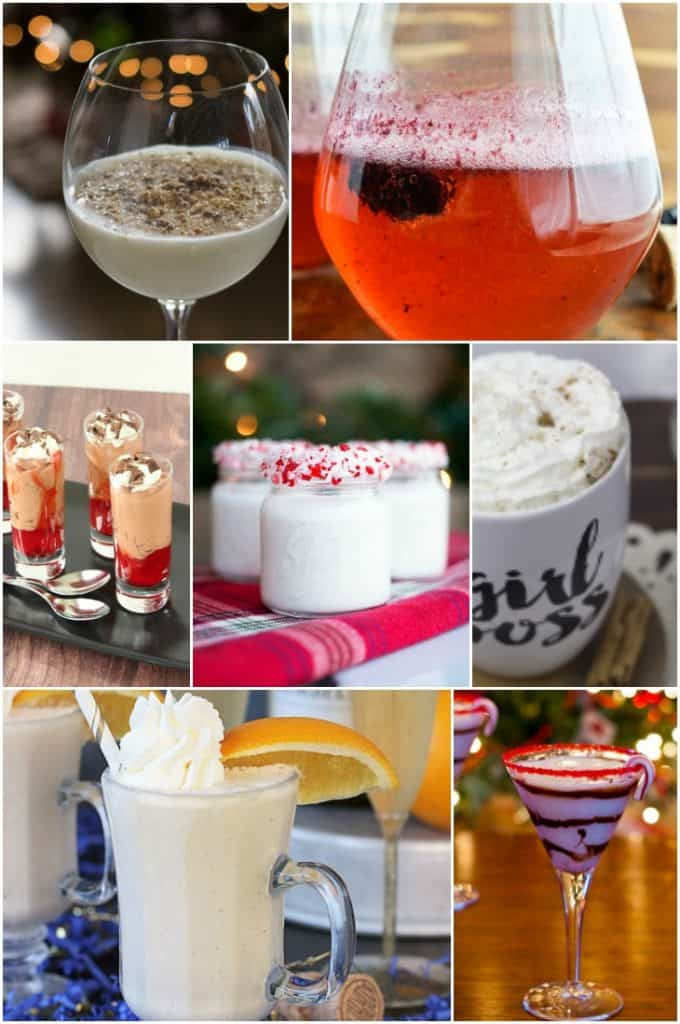 This collection of alcoholic holiday drinks will make your next party a huge hit!