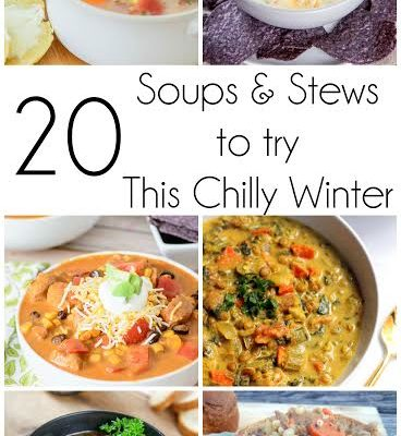 Soups and Stews for Winter