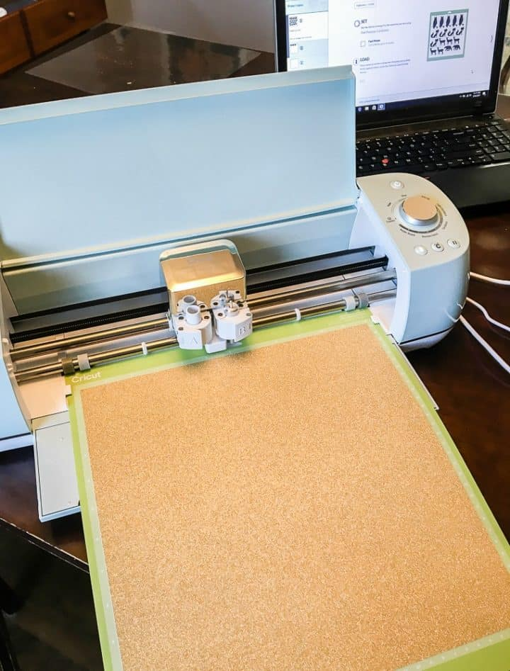 Cutting Glitter Cardstock in Cricut